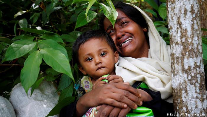 Bangladesch Rohingya Flüchtlinge bei Cox's Bazar (Reuters/M. Ponir Hossain)