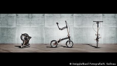 Folding bike Kwiggle (Kwiggle/Basil Fotografie/S. Sellnau)