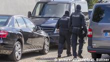 Deutschland Banzkow - Durchsuchungen bei Anti-Terror-Razzia