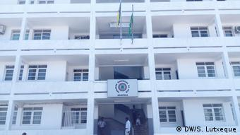 Mosambik Polizei in Nampula