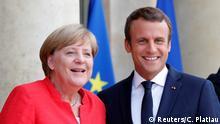 Merkel e Macron: presidente francês disse que ambos continuarão cooperação voltados para a Europa