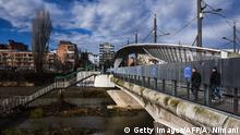 Kosovo Mitrovica - Brücke