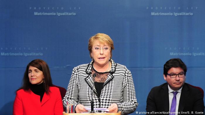 Chile Santiago de Chile - Michele Bachelet will Homo-Ehe legalisieren