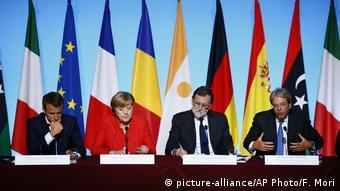 Frankreich PK Migrationsgipfel in Paris