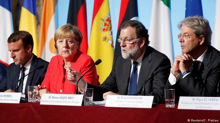Reunidos em Paris, líderes debateram a crise migratória