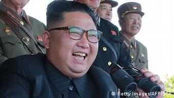 Nordkorea Kim Jong-Un (Getty Images/AFP/STR)