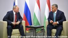 Ungarn Putin trifft Orban