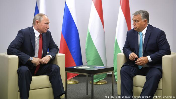 Orban and Putin in Budapest