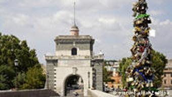 Die antike Milvische Brücke