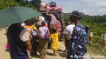 Konflikt in Myanmar (picture-alliance/dpa)
