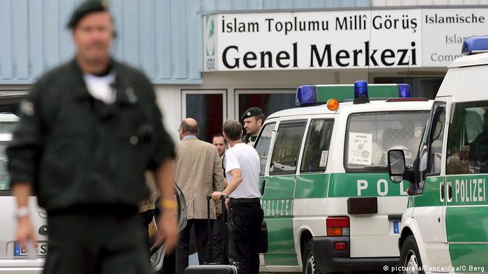 Milli Görüş'ün Almanya'daki merkezi 2008 yılındaki soruşturma kapsamında polis tarafından aranmıştı.