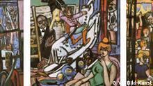 DREI Das Triptychon in der Moderne Ausstellung Drei. Das Trptychon der Moderne in Stuttgart. Die Bilder gibt es im Pressebereich des Museums: http://www.kunstmuseum-stuttgart.de/de/index.php?site=8&page=1