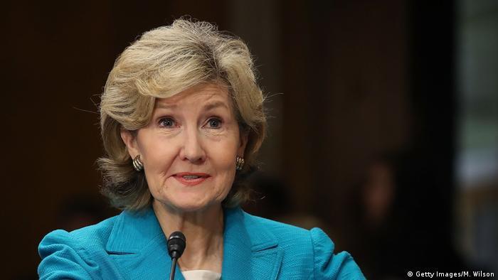 ABD'nin NATO nezdindeki daimi temsilcisi Kay Bailey Hutchison