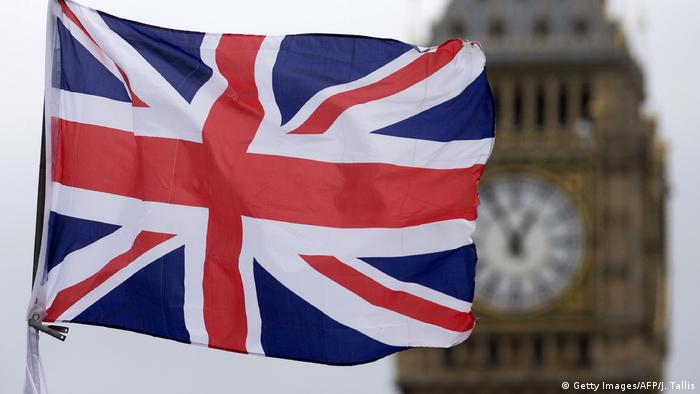 Großbritanien Flagge Union Jack (Getty Images/AFP/J. Tallis)