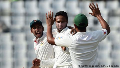 Bangladesch Cricket Test Match Bangladesch gegen Australien (Getty Images/AFP/M. Uz Zaman)