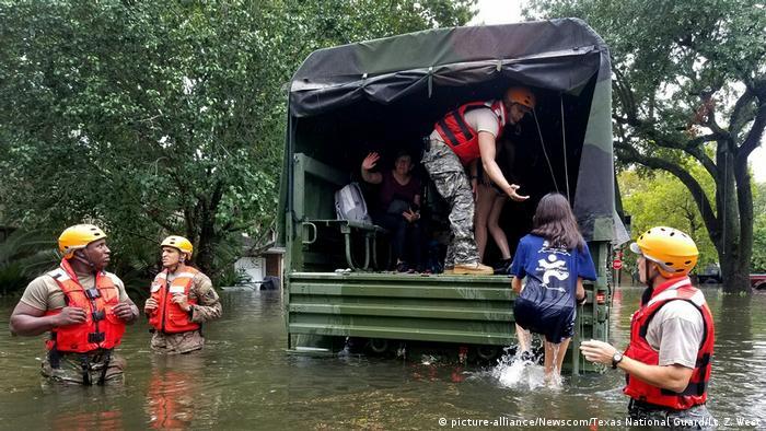 Furacão Harvey causa danos estimados em 42 bilhões de dólares