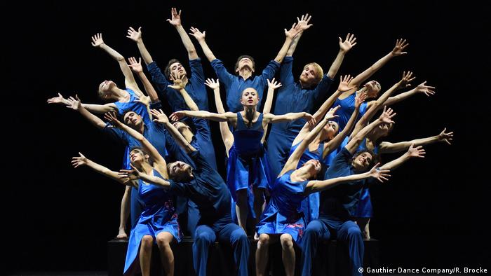 Dancers from Gauthier Dance Company Stuttgart (Gauthier Dance Company/R. Brocke)