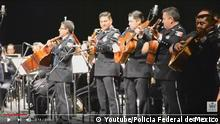 Screenshot Youtube Mexiko Mariachi Band der Bundespolizei