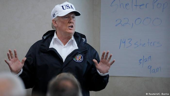 USA Präsident Donald Trump in Austin