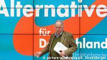 Deutschland Alexander Gauland von der der AfD in Potsdam