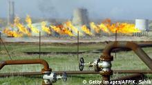 Irak Ölfelder in Kirkuk
