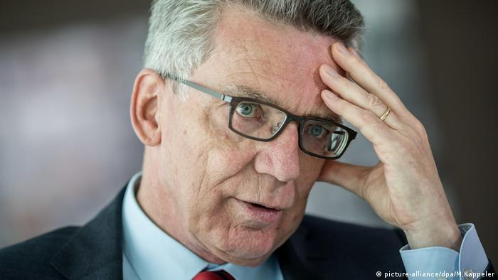 Thomas de Maiziere (picture-alliance/dpa/M.Kappeler)