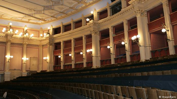 Innenansicht des Festspielhauses in Bayreuth