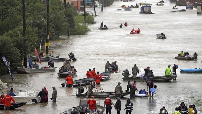 Harvey Texas Tidwell Road Houston (picture-alliance/AP Photo/D.J.Philips)