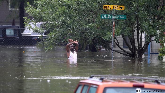 Harvey Texas Houston Überflutung Unwetter (Getty Images/J.Raedle)