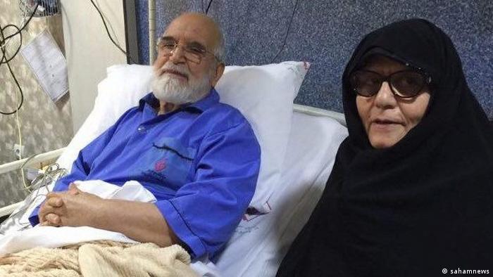 Iran Mehdi Karroubi & Fatemeh Karroubi (sahamnews)