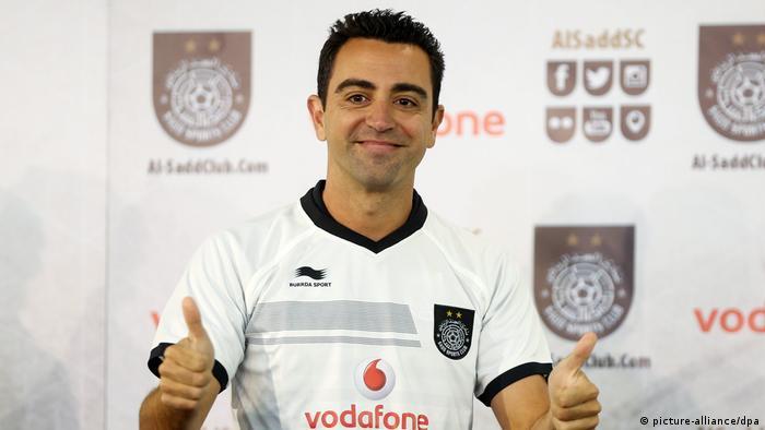 Fußballer Xavi Hernandez (picture-alliance/dpa)