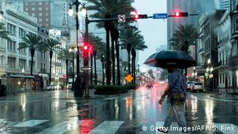 Com o aumento da temperatura global, Nova Orleans poderá sofrer com um maior número de furacões.