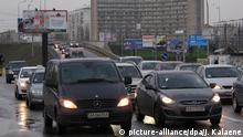 Ukraine Kiew - Straßenverkehr