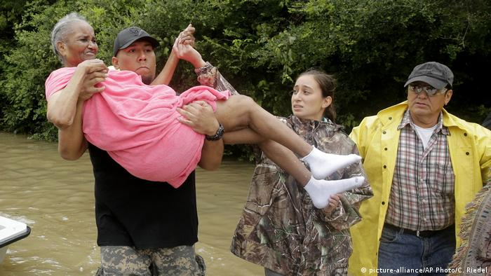 USA Tropensturm Harvey