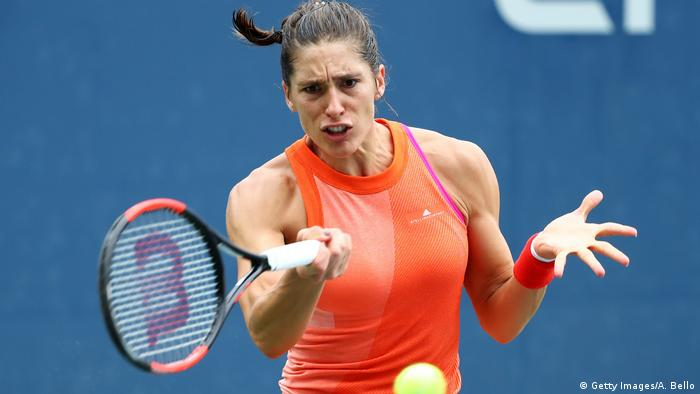 2017 US Open Tennis Championships - Andrea Petkovic (Getty Images/A. Bello)