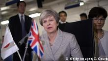 Japan Theresa May auf Staatsbesuch- Day Two