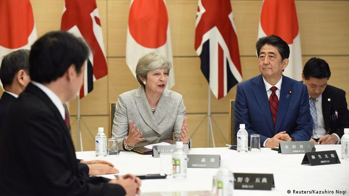Japan Theresa May auf Staatsbesuch bei Abe - Day Two (Reuters/Kazuhiro Nogi)