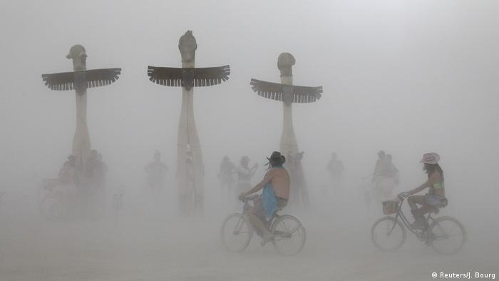 Bildergalerie Burning Man Festival in Nevada (Reuters/J. Bourg)