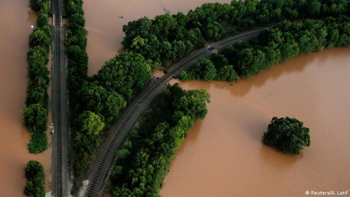Зміна клімату - ураган Харві