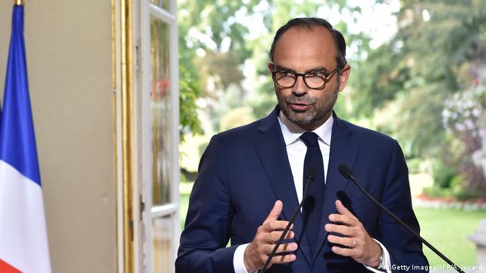 Primeiro-ministro francês, Edouard Philippe