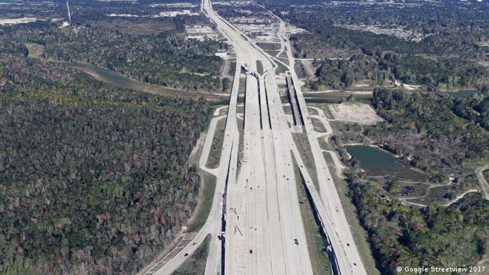 USA   Interstate 69 Houston Texas Screenshot Google Streetview (Google Streetview 2017)