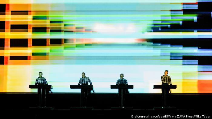La banda alemana Kraftwerk.