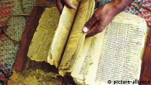 Thumbnail für unsere Doku 'Der Schatz von Timbuktu - Die Geschichte einer Rettung'