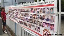 Denkmal für vermisste Personen während des Kosovo-Krieges