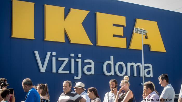 Serbien Belgrad Ikea