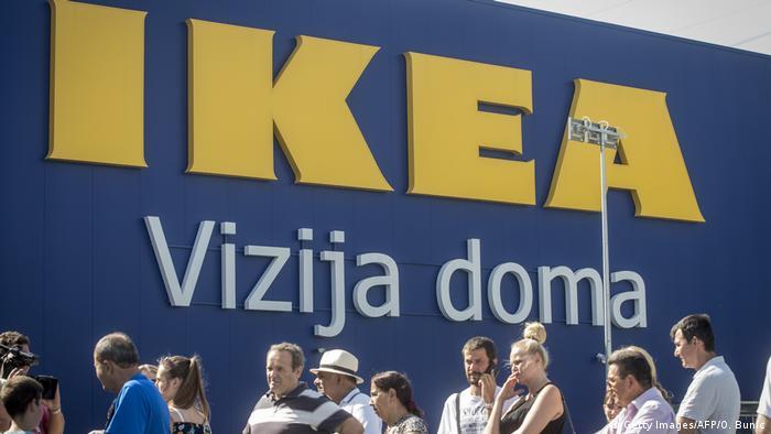 Serbien Belgrad Ikea (Getty Images/AFP/O. Bunic)