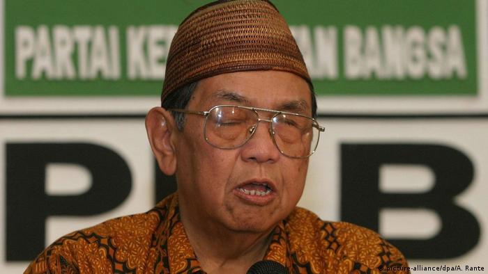 Indonesien Gus Dur - Abdurrahman Wahid, ehemaliger Präsident