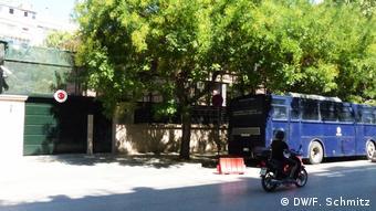 Δρακόντεια τα μέτρα ασφαλείας έξω από το τουρκικό προξενείο στη Θεσ/νίκη