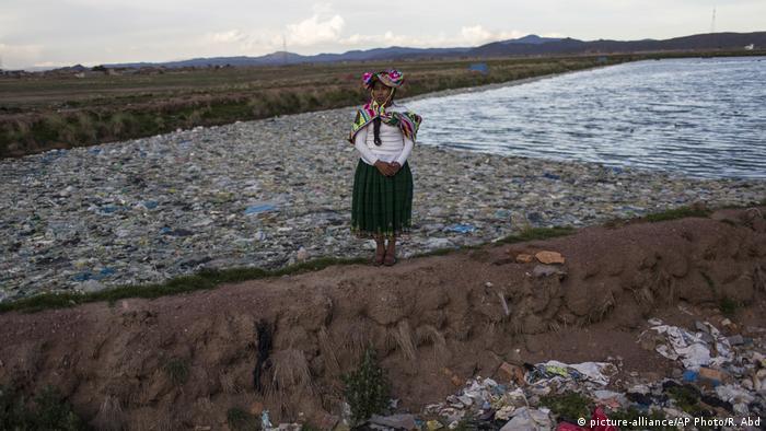 La campesina y activista Maruja Inquilla.