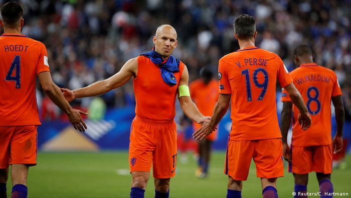 Fußball WM Qualifikation 2018 Frankreich - Niederlande (Reuters/C. Hartmann)